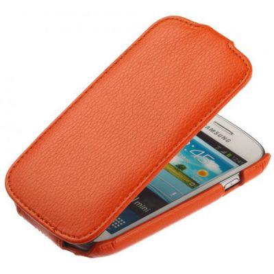 Чехол Armor-X для Galaxy S 5 flip оранжевый