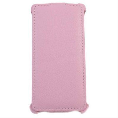 Чехол Armor-X для Galaxy S 5 flip розовый