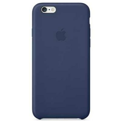 Чехол Apple iPhone 6 Plus Leather Case - Midnight Blue MGQV2ZM/A