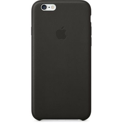 Чехол Apple iPhone 6 Leather Case - Black MGR62ZM/A