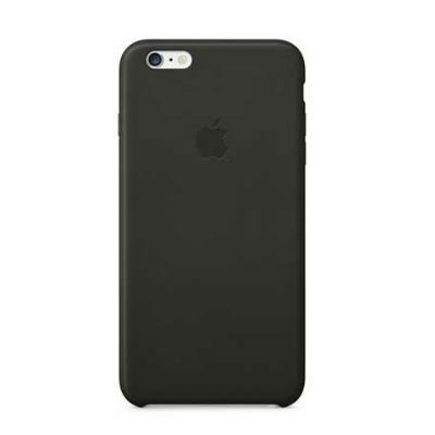 ����� Apple iPhone 6 Plus Leather Case - Black MGQX2ZM/A
