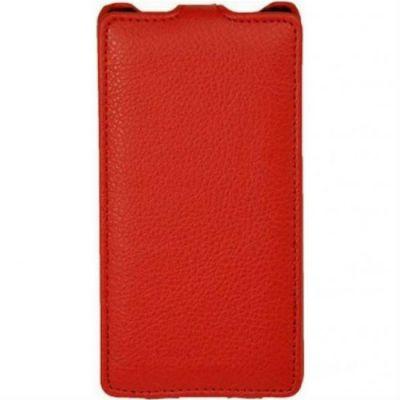 Чехол Armor-X для HTC Desire 200 flip full красный
