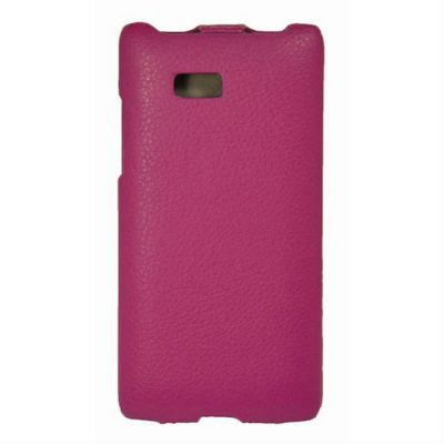 Чехол Armor-X для HTC Desire 300 flip full пурпурный