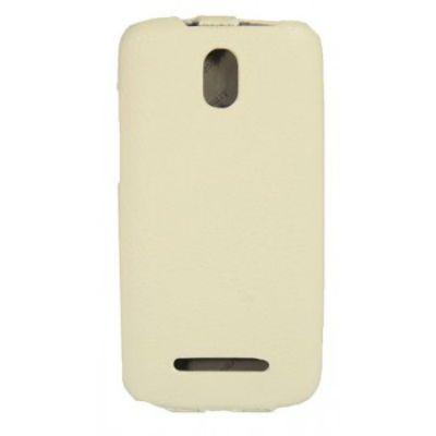 Чехол Armor-X для HTC Desire 500 dual flip full белый
