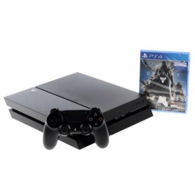 ������� ��������� Sony PlayStation4 500GB CUH-1108A/B01 ������ + ���� Destiny � ����� ����������� CUH-1108A/B01