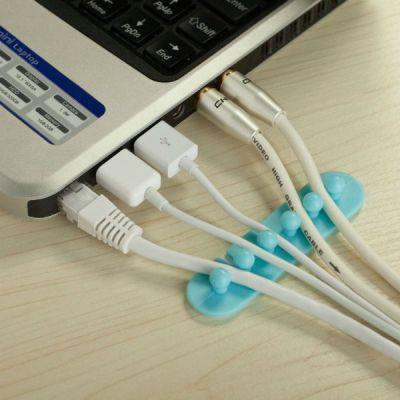 Espada Клипса для 5-и кабелей (в комплекте 2шт) EK52