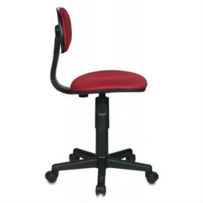 Офисное кресло Бюрократ б/подлокотников бордовый