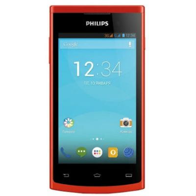 Смартфон Philips S308 Red 8712581725051