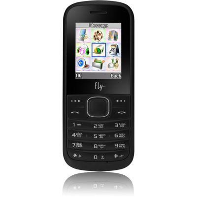 Телефон Fly DS103D Black