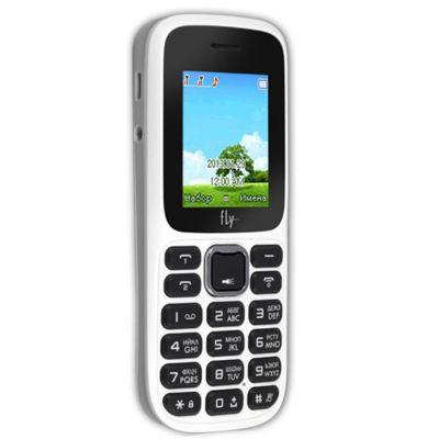 Телефон Fly DS106D White
