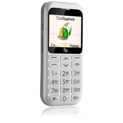 Телефон Fly Ezzy 4 White