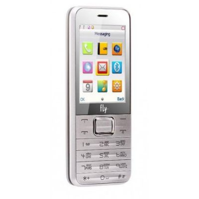 Телефон Fly TS107 Silver