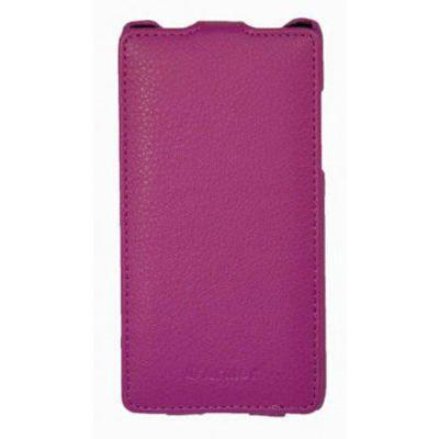 Чехол Armor-X для HTC Desire 610 flip full пурпурный