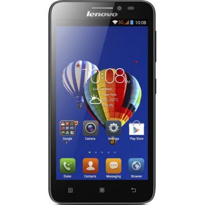 Смартфон Lenovo A606 LTE BLACK P0R4000ARU