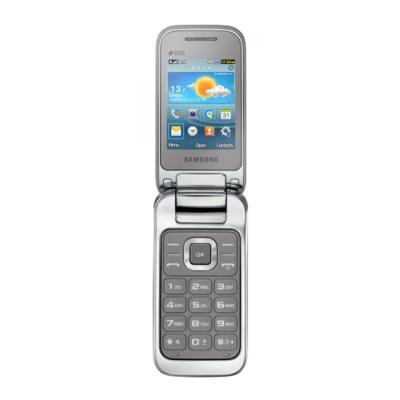 Телефон Samsung GT-C3592 Titanium Silver GT-C3592TSASER