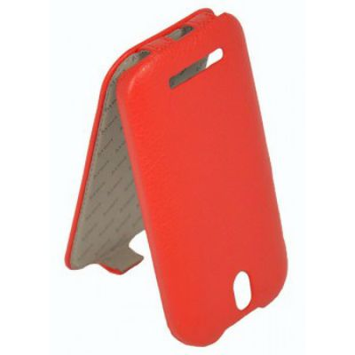 Чехол Armor-X для HTC Desire SV flip full красный