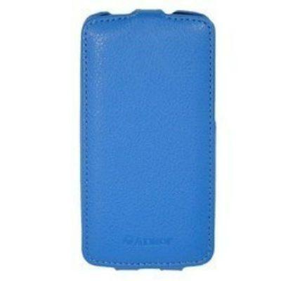 Чехол Armor-X для HTC One (M8) flip full синий