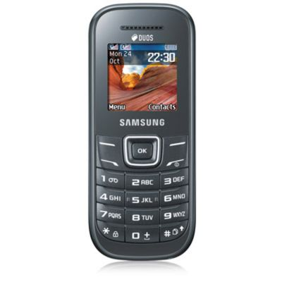 ������� Samsung GT-E1202 Dark Gray GT-E1202DAISER