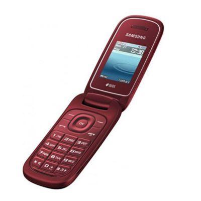 Телефон Samsung GT-E1272 Garnet Red GT-E1272GRASER
