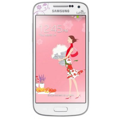 �������� Samsung Galaxy S4 mini Duos GT-I9192 White LaFleur GT-I9192ZWZSER