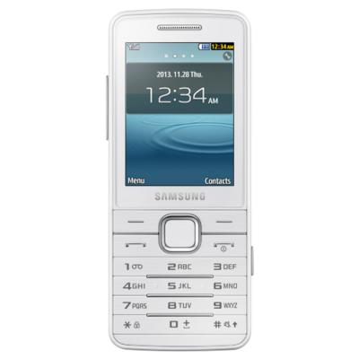 Телефон Samsung GT-S5611 White GT-S5611ZWASER