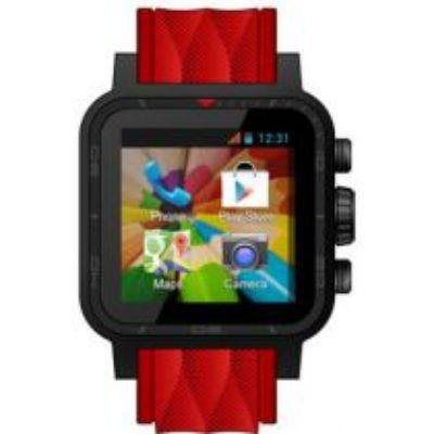 IconBIT смарт часы Callisto 300 (красный ремешок) NT-1503С