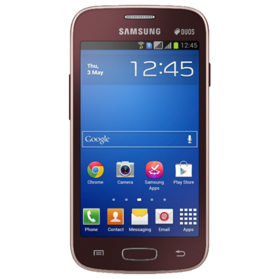 Смартфон Samsung Galaxy Star Plus GT-S7262 Wine Red GT-S7262WRASER