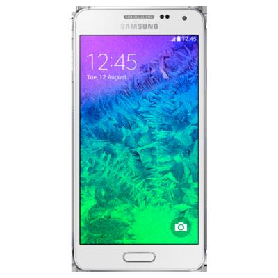 Смартфон Samsung GALAXY ALPHA White SM-G850FZWESER
