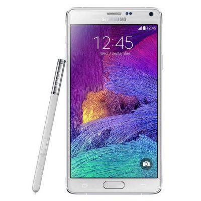 Смартфон Samsung SM-N910 GALAXY Note 4 White SM-N910CZWESER