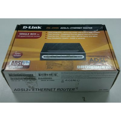 Модем D-Link #DSL-2500U (Annex B) (Уценка)