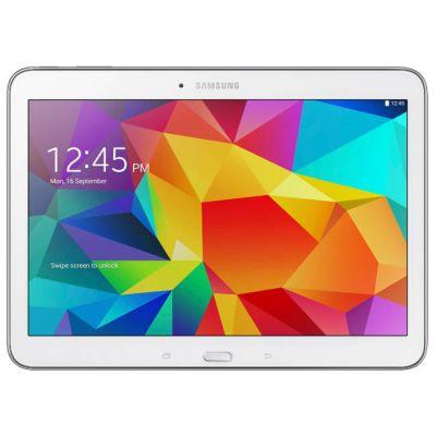 Планшет Samsung SM-T530 Galaxy Tab 4 10.1 Wi-Fi 16Gb (White) SM-T530NZWASER