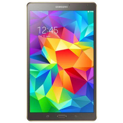 Планшет Samsung SM-T700 Galaxy Tab S 8.4 Wi-Fi 16Gb (Titanium Silver) SM-T700NTSASER