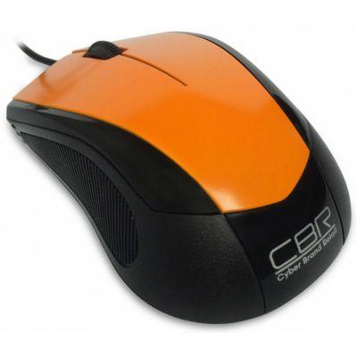 Мышь проводная CBR cm 100 Orange