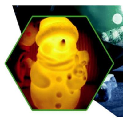 MiXberry LED Снеговик MLG 005