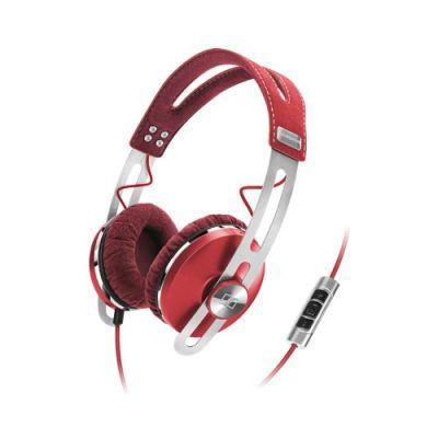 Наушники с микрофоном Sennheiser Momentum On-Ear Red