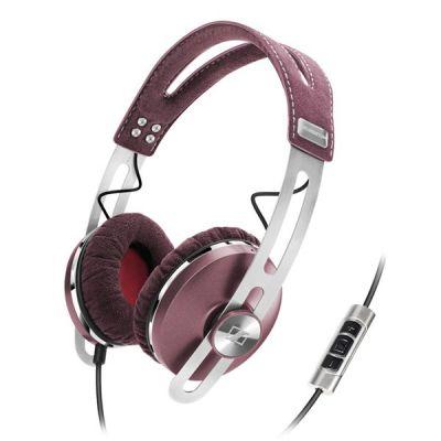 Наушники с микрофоном Sennheiser Momentum On-Ear Pink
