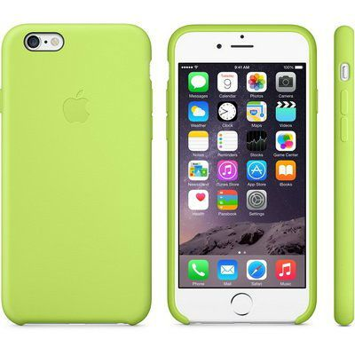 Чехол Apple iPhone 6 Silicone Case - Green MGXU2ZM/A