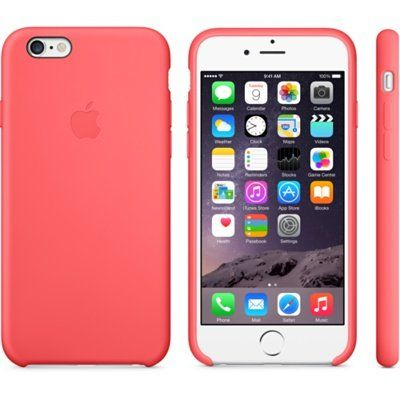 Чехол Apple iPhone 6 Silicone Case - Pink MGXT2ZM/A