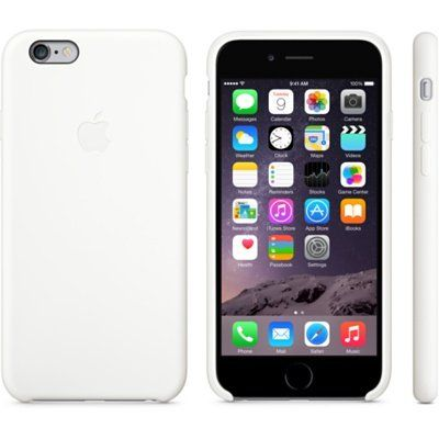Чехол Apple iPhone 6 Silicone Case - White MGQG2ZM/A