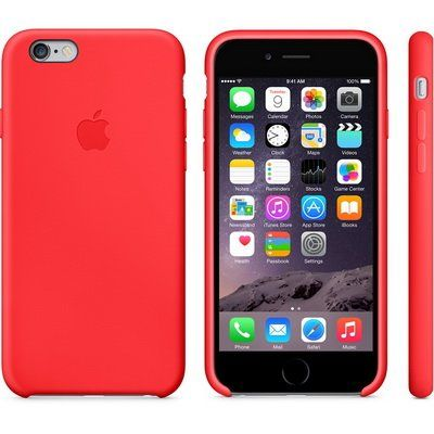Чехол Apple iPhone 6 Silicone Case - Red MGQH2ZM/A
