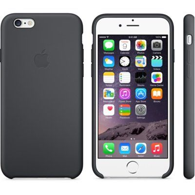Чехол Apple iPhone 6 Plus Silicone Case - Black MGR92ZM/A