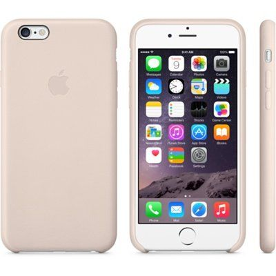Чехол Apple iPhone 6 Leather Case - Soft Pink MGR52ZM/A