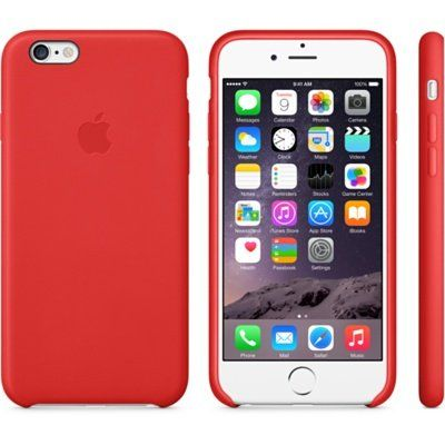 ����� Apple iPhone 6 Plus Leather Case - Bright Red MGQY2ZM/A