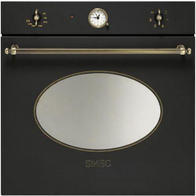 Встраиваемая газовая духовка SMEG SF800GVAO