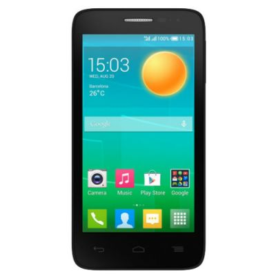 Смартфон Alcatel POP D5 Black 5038D-2BALRU1