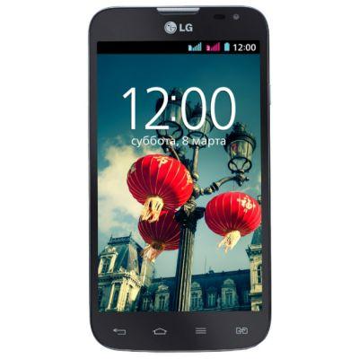 Смартфон LG L70 D325 Black LGD325.ACISBK