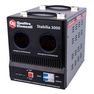 Стабилизатор напряжения Quattro Elementi Stabilia 3000 772-074