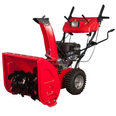 """Снегоуборщик DDE ST6562L (двигатель Loncin 6,5л.с., 24.5"""", бесступенчато вперёд/назад, 14"""" колёса, эл. старт, фара) ST6562L-14E"""
