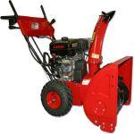 Снегоуборщик DDE ST8064L (двигатель Loncin 8,0л.с., 6 вперёд/2 назад, 14 колёса, эл. старт, фара)