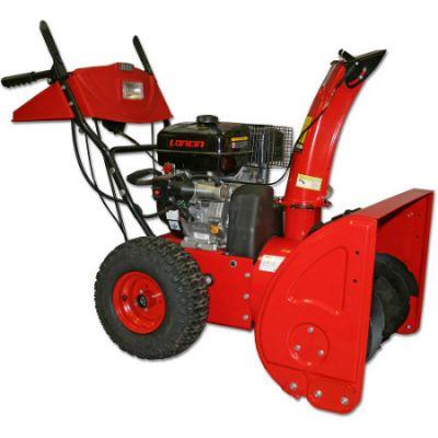 """Снегоуборщик DDE ST9070L (двигатель Loncin 9,0 л.с., 28"""", 6 вперёд/2 назад, 15"""" колёса, эл. старт, фара)"""